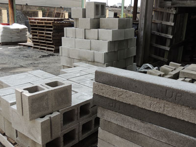 Blocks for your masonry needs