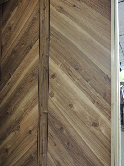 picture of paneling wood look